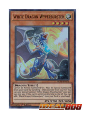 White Dragon Wyverburster - BLHR-EN076 - Ultra Rare - 1st Edition