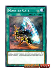 Monster Gate - SR07-EN030 - Common - 1st Edition
