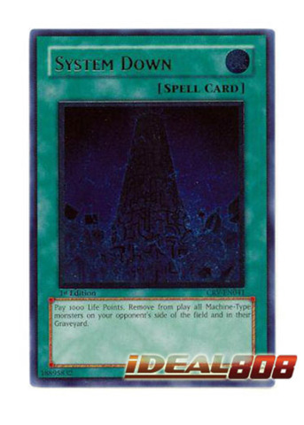System Down - CRV-EN041 - Ultimate Rare - 1st Edition