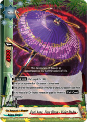 Dark Arms, Fiery Bloom - Violet Blades - [S-BT02A-SP/0021EN C (Regular)] English