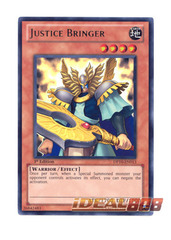 Justice Bringer - DP10-EN013 - Ultra Rare - Unlimited Edition