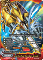 Dragon Fangs Thunder Emperor Sword, Bal X Bunker [S-BT02A-SP/0031EN Secret (FOIL)] English