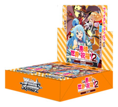 Konosuba Re:Edit | この素晴らしい世界に祝福を! Re:Edit (Japanese) Weiss Schwarz Booster Box [16 Packs] * ETA Feb.28