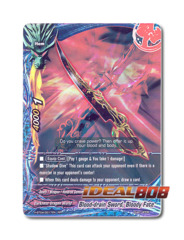 Blood-drain Sword, Bloody Fate [H-BT04/0017EN RR (FOIL)] English