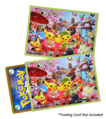 Pokemon Center (Kyoto) Hannari Tea Party Pikachu Deck Shield Pack [64ct Sleeves]