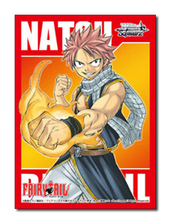 Fairy Tail [Natsu Dragneel] Weiss Schwarz Gold/Silver Redemption Character Sleeves (50ct)