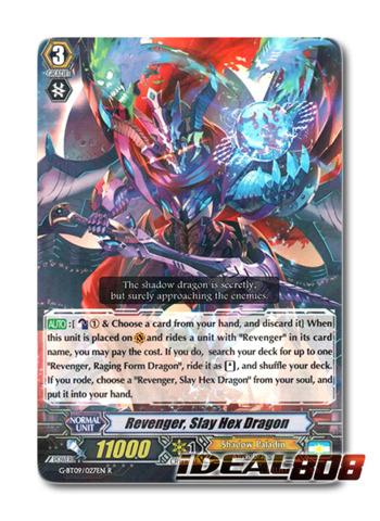 Revenger, Slay Hex Dragon - G-BT09/027EN - R