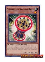 Superheavy Samurai Drum - MP16-EN110 - Common - 1st Edition