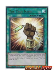 The True Name - LED7-EN014 - Ultra Rare - 1st Edition