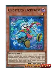 Ghostrick Jackfrost - AC18-EN003 - Super Rare - 1st Edition