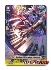 Keyboard Star-vader, Bismuth - TD11/016EN - TD