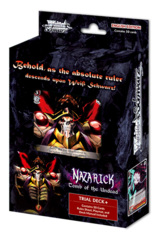 Nazarick: Tomb of the Undead <Overlord> (English) Weiss Schwarz Trial Deck+ (Plus) * PRE-ORDER Ships Sep.25
