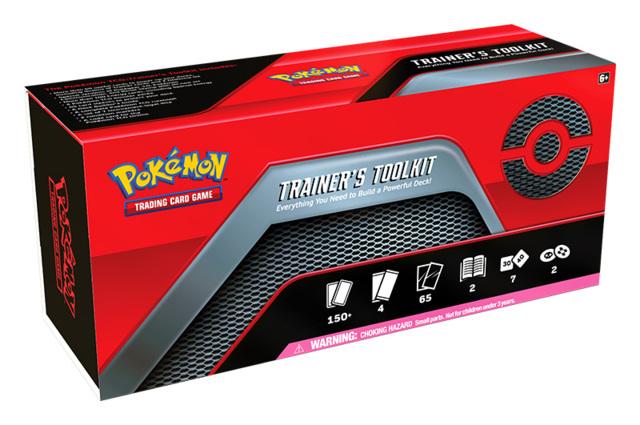 Pokemon TCG Trainer's Toolkit Box * PRE-ORDER Ships Jun.26