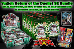 Yugioh REDU Special Edition Bundle - Get x1 Return of the Duelist Booster Box, x1 SE Box, x1 2012 Collector's Tin, x1 Obelisk Sl