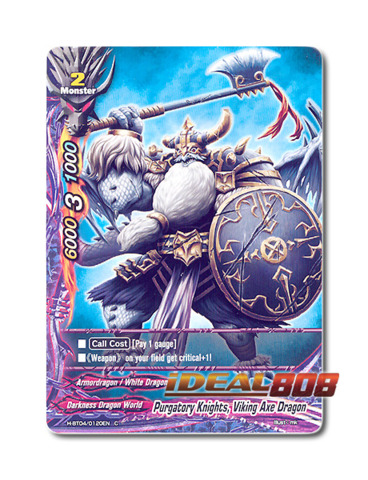 Purgatory Knights, Viking Axe Dragon [H-BT04/0120EN C] English