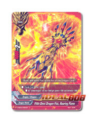 Fifth Omni Dragon Fist, Roaring Flame [H-EB04/0084EN U (FOIL)] English