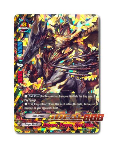 Emperor Dragon, Gael Khan - BT02/0004EN (RRR) Triple Rare