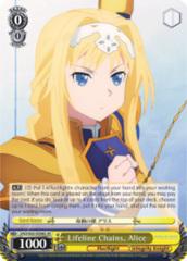 Lifeline Chains, Alice [SAO/S65-E006S SR (FOIL)] English