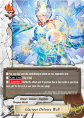 Glacious Defense Wall [D-BT04/0060EN U (FOIL)] English