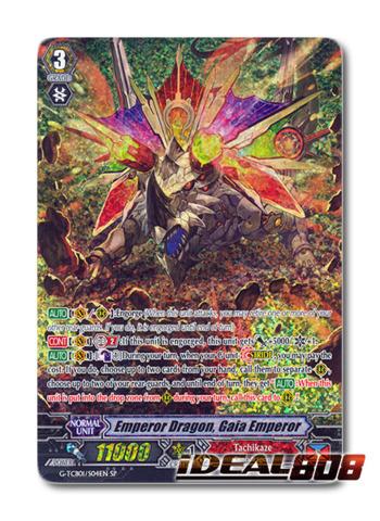 Emperor Dragon, Gaia Emperor - G-TCB01/S04EN - SP