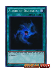 Allure of Darkness - DESO-EN044 - Super Rare - 1st Edition