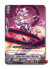 Eclipse Star-vader, Charcoal - BT17/121EN - C