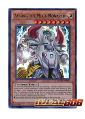 Zaborg the Mega Monarch - NECH-EN037 - Ultra Rare - Unlimited Edition