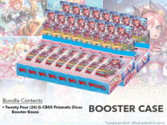CFV-G-CB05 Prismatic Divas (English) Cardfight Vanguard G-Clan Booster  Case (24 Boxes)