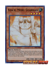 Koa'ki Meiru Guardian - SESL-EN048 - Super Rare - 1st Edition