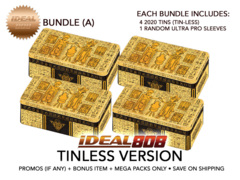 Yugioh 2020 Tin (Tin-Less Version) - Bundle (A) - Get x4 Tin-Less Versions + Bonus Item * PRE-ORDER Ships Aug.28