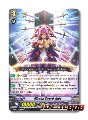Mirage Sword, Judy - G-TD07/004EN - TD (common ver.)