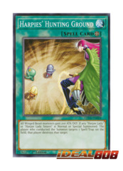 Harpie's Hunting Ground - LED4-EN009 - Common - 1st Edition