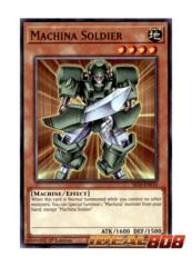 Machina Soldier - SR10-EN010 - Common - 1st Edition