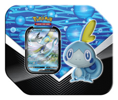 Pokemon TCG: Galar Partners Tin (2020) - Sobble | Inteleon V