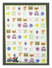 Future Card Buddyfight X Bushiroad Large Sleeves (55ct) Flags - Color
