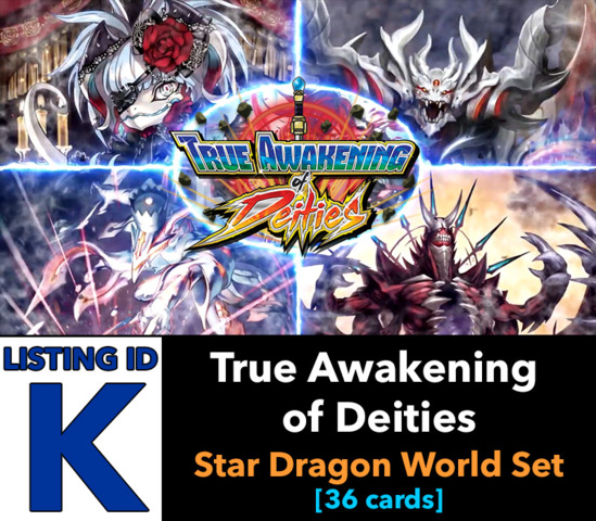 # True Awakening of Deities [S-BT03 ID (K)]
