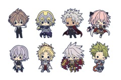 Fate/Apocrypha Kotobukiya Strap Collection (Collect ALL 8) [#4934054004577]