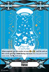 ▽ Imaginary Gift Marker [Force] Sea Otter Outline on Blue Poco - V-GM/0119EN (FOIL)
