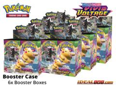 SS Sword & Shield: Vivid Voltage (SS04) Pokemon Booster  Case [6 Boxes] * PRE-ORDER Ships Nov.13