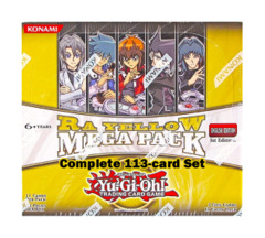 Yugioh Ra-Yellow Mega Pack Complete 113-Card Set (1st Edition TCG Release)