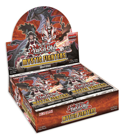 Mystic Fighters (1st Edition) Yugioh Booster Box [24 Packs] * PRE-ORDER Ships Nov.22