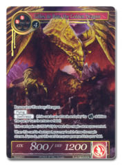 Gilles de Rais, the Golden Dragon (FULL ART) - WORLD-001 - PR