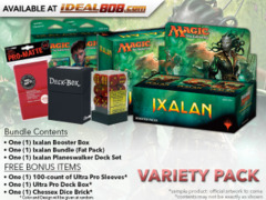 MTGXLN Variety Pack - Get x1 Ixalan Booster Box; x1 Bundle; & 1 Planeswalker Deck Set+ FREE Bonus Items