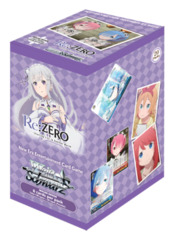 Re:ZERO -Starting Life in Another World- (English) Weiss Schwarz Booster Box