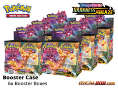 SS Sword & Shield: Darkness Ablaze (SS03) Pokemon Booster  Case [6 Boxes] * PRE-ORDER Ships Aug.14