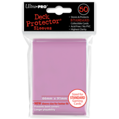 Ultra Pro Large Sleeves 50ct. - Pink (#82674)