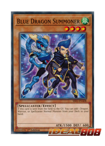 Blue Dragon Summoner - SS01-ENA08 - Common - 1st Edition