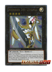 Number 39: Utopia - Gold Ultra - GLD5-EN036 (Limited Edition)