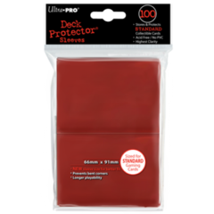 Ultra Pro Large Sleeves 100ct. - Red (#82694)