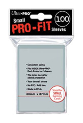 Ultra Pro Fit Small Size - Clear [82713]